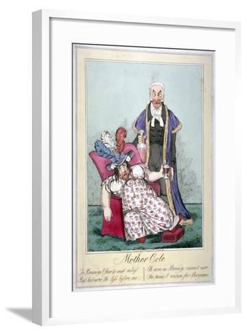 Mother Cole, 1821--Framed Art Print