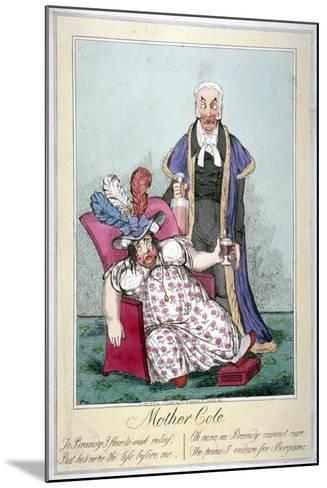 Mother Cole, 1821--Mounted Giclee Print