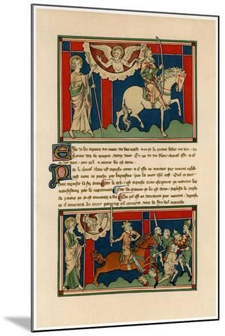 Two of the Horsemen of the Apocalypse, Early 14th Century--Mounted Giclee Print