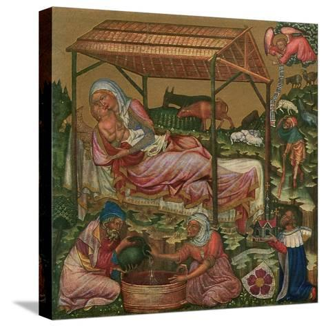 Birth of Christ, C1350--Stretched Canvas Print