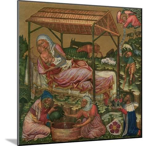 Birth of Christ, C1350--Mounted Giclee Print