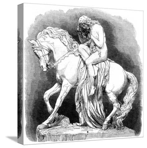 Lady Godiva, 1861--Stretched Canvas Print