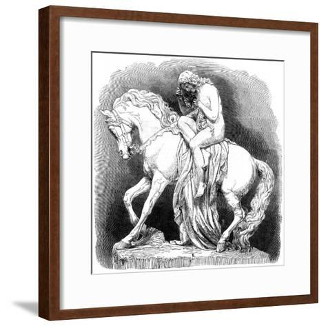 Lady Godiva, 1861--Framed Art Print