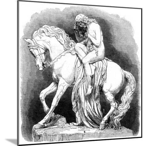 Lady Godiva, 1861--Mounted Giclee Print