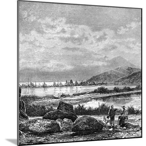 Hong Kong, View from Kowlun, C1890--Mounted Giclee Print