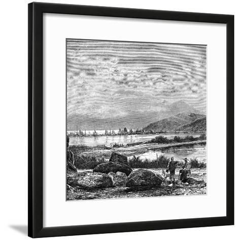 Hong Kong, View from Kowlun, C1890--Framed Art Print