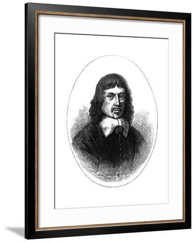 Wenceslaus Hollar (1607-167), Bohemian Etcher, 1891--Framed Art Print