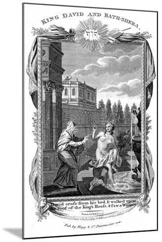 King David Looking Down at Bathsheba, C1804--Mounted Giclee Print