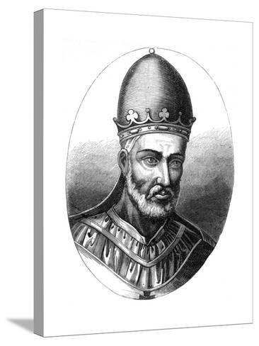 Pope Honorius III (1148-122), 1849--Stretched Canvas Print