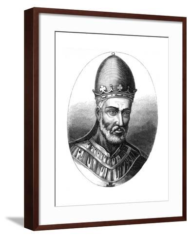 Pope Honorius III (1148-122), 1849--Framed Art Print