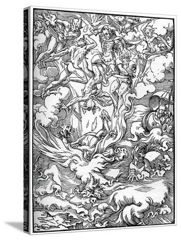 Sketch for 'The Last Judgement' in Gerard D'Euphrate, Paris, 1549--Stretched Canvas Print