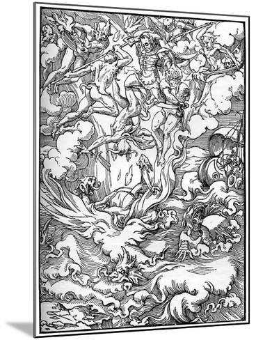 Sketch for 'The Last Judgement' in Gerard D'Euphrate, Paris, 1549--Mounted Giclee Print