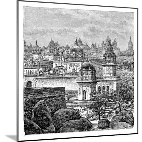 Jaina Temples, Junagadh, Gujarat, India, 1895--Mounted Giclee Print