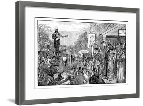 Andrew Jackson, 7th President of the USA, Washington, USA, 1828--Framed Art Print