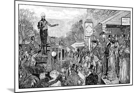 Andrew Jackson, 7th President of the USA, Washington, USA, 1828--Mounted Giclee Print