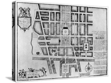 Plan of Lord Harley's Estate, London, 1907--Stretched Canvas Print