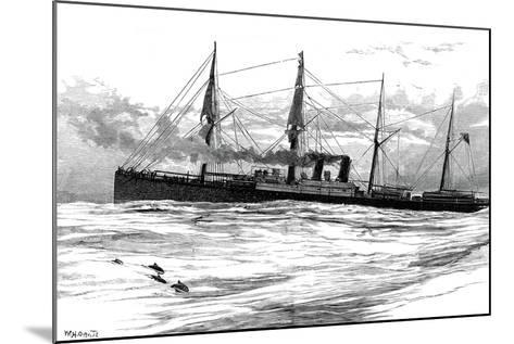 The Orient Steam Navigation Company's Steamship Orient, C1880--Mounted Giclee Print