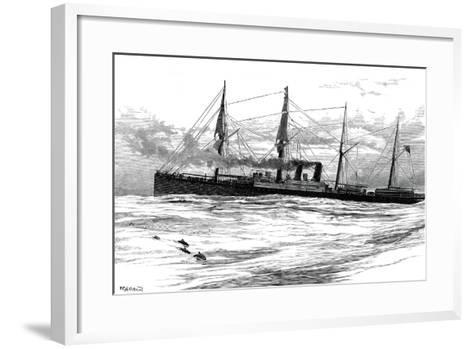 The Orient Steam Navigation Company's Steamship Orient, C1880--Framed Art Print