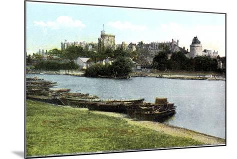 Windsor Castle, Berkshire, 20th Century--Mounted Giclee Print