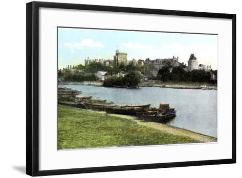 Windsor Castle, Berkshire, 20th Century--Framed Art Print