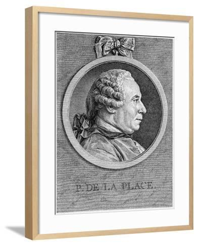 Pierre Simon Laplace, French Mathematician and Astronomer, 18th Century--Framed Art Print