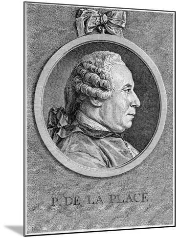Pierre Simon Laplace, French Mathematician and Astronomer, 18th Century--Mounted Giclee Print