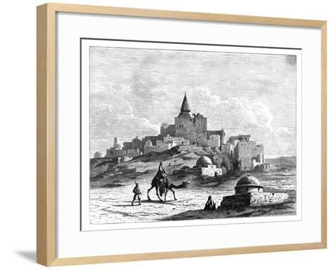 Tomb of Jonah, Near the Mosque, on the Artificial Mound of Nabbi Yunis, Nineveh, Assyria, C1890--Framed Art Print