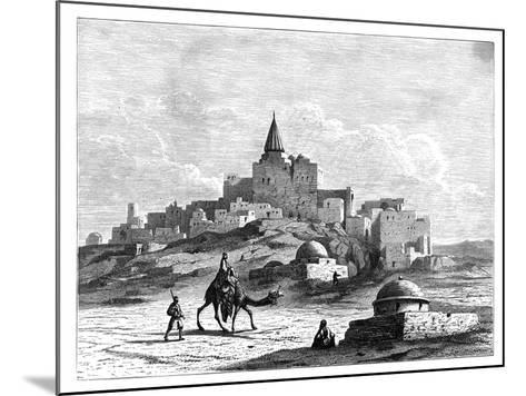 Tomb of Jonah, Near the Mosque, on the Artificial Mound of Nabbi Yunis, Nineveh, Assyria, C1890--Mounted Giclee Print