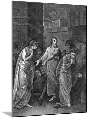 A Woman Accused of Adultery, 1813--Mounted Giclee Print
