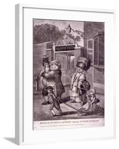 Bagnigge Wells, St Pancras, London, C1780--Framed Art Print