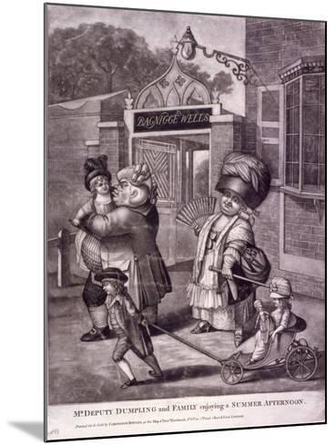 Bagnigge Wells, St Pancras, London, C1780--Mounted Giclee Print