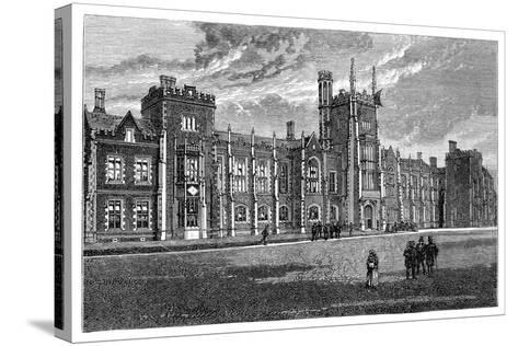 Queen's College, Belfast, 1900--Stretched Canvas Print