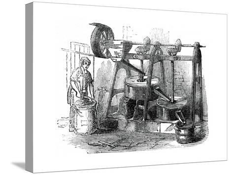 Chocolate Mill, 1886--Stretched Canvas Print