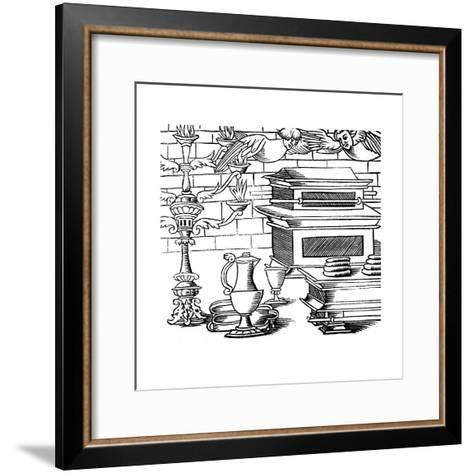 Sanctuary of the Ark of the Covenant, 16th Century--Framed Art Print