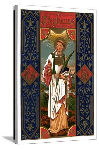 St Stephen, 1886--Stretched Canvas Print