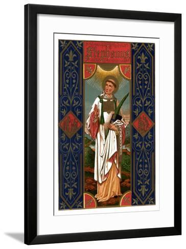 St Stephen, 1886--Framed Art Print