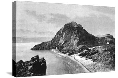 Cape Sam-Lourenco, Eastern Headlands of Madeira, 1895--Stretched Canvas Print