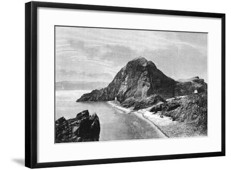 Cape Sam-Lourenco, Eastern Headlands of Madeira, 1895--Framed Art Print