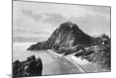 Cape Sam-Lourenco, Eastern Headlands of Madeira, 1895--Mounted Giclee Print