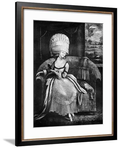 The Bird of Paradise, 1772--Framed Art Print