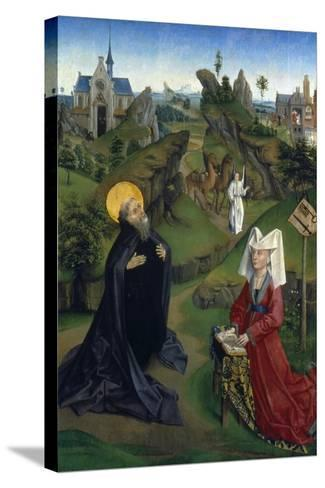 The Legend of St Antony, C1450--Stretched Canvas Print