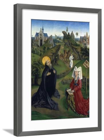 The Legend of St Antony, C1450--Framed Art Print
