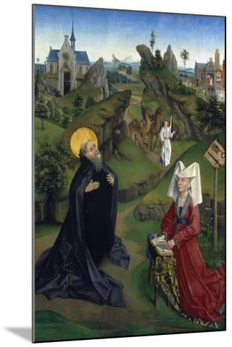The Legend of St Antony, C1450--Mounted Giclee Print