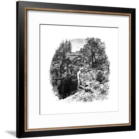 The Linn of Dee, Aberdeenshire, Scotland, 1900-GW and Company Wilson-Framed Art Print