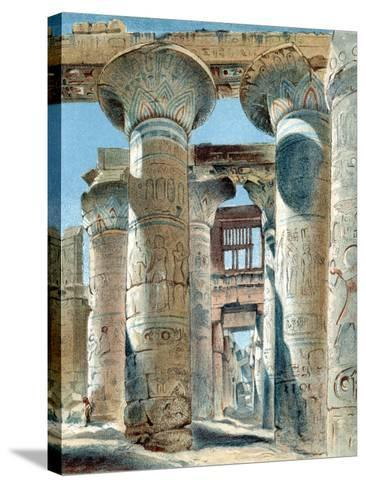 Hypostyle Hall, Temple of Amon-Re, Karnak, Ancient Egypt, 14th-13th Century BC--Stretched Canvas Print