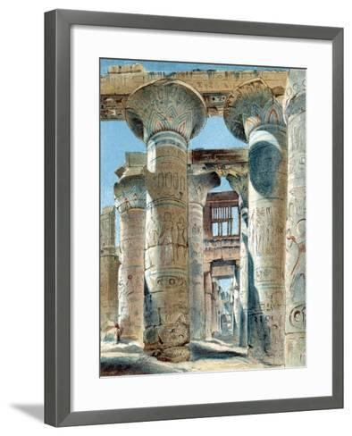 Hypostyle Hall, Temple of Amon-Re, Karnak, Ancient Egypt, 14th-13th Century BC--Framed Art Print