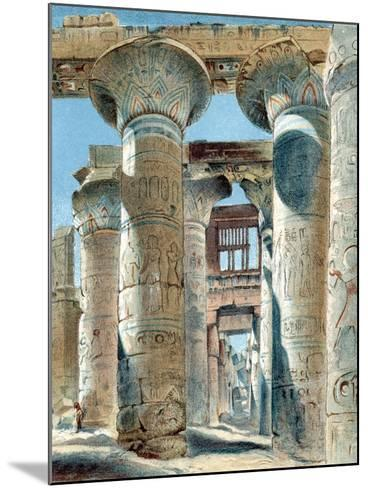 Hypostyle Hall, Temple of Amon-Re, Karnak, Ancient Egypt, 14th-13th Century BC--Mounted Giclee Print