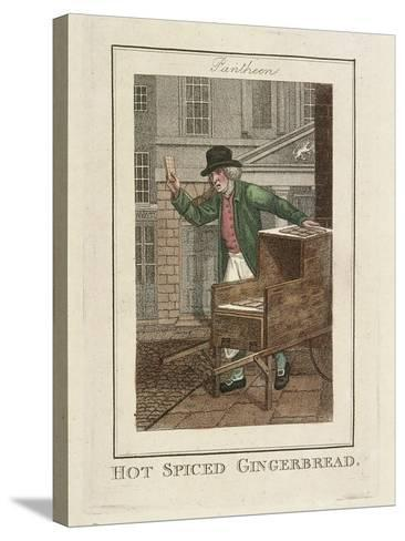 Hot Spiced Gingerbread, Cries of London, 1804-William Marshall Craig-Stretched Canvas Print