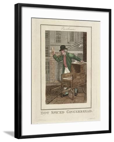 Hot Spiced Gingerbread, Cries of London, 1804-William Marshall Craig-Framed Art Print