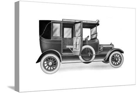 A 25 HP Talbot Limousine Landaulette, 1912--Stretched Canvas Print